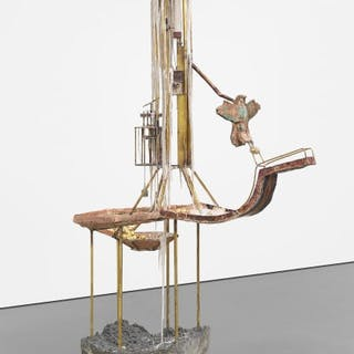 The Candle Clock of the Scribe - Diana Al-Hadid