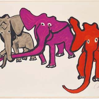 Elephants, from Our Unfinished Revolution - Alexander Calder
