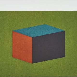 Forms Derived from a Cubic Rectangle: Plate #01 - Sol LeWitt