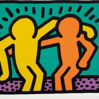 Pop Shop I: one plate - Keith Haring