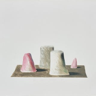 An Imaginary Landscape - David Hockney