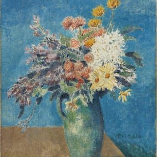 Vase de fleurs - Pablo Picasso