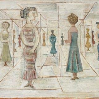 Labirinto/Labirinto di vetro - Massimo Campigli