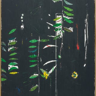 Untitled (Full Moon in the Deep Forest) - Harold Ancart