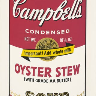 Oyster Stew, from Campbell's Soup II - Andy Warhol