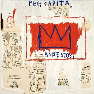 Per Capita - After Jean-Michel Basquiat
