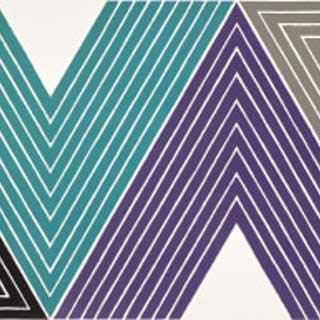 Empress of India I, from V Series - Frank Stella