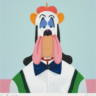 Droopy Dog Abstraction - George Condo