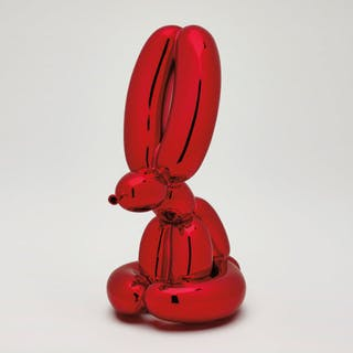 Balloon Rabbit (Red) - Jeff Koons