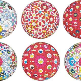 Cosmic Power; Flowerball: Koi/Red crowned Crane Vermilion; Flowerball: