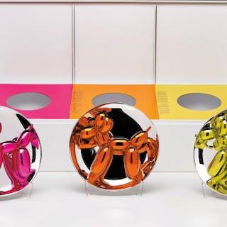 Balloon Dogs Presentation Set (Magenta, Orange, Yellow) - Jeff Koons
