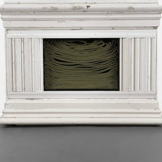 Mantle with Hose II - Theaster Gates