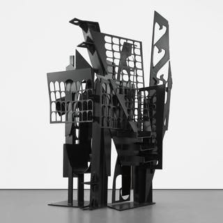 Frozen Laces-Two - Louise Nevelson