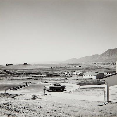Newly occupied tract houses, Colorado Springs, Colorado - Robert Adams