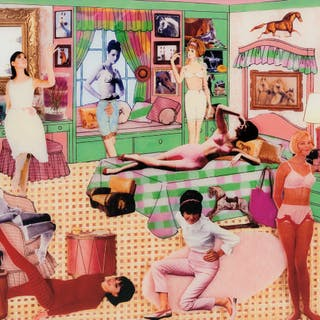 The Instant Decorator: Pink and Green Bedroom (Slumber Party) - Laurie Simmons