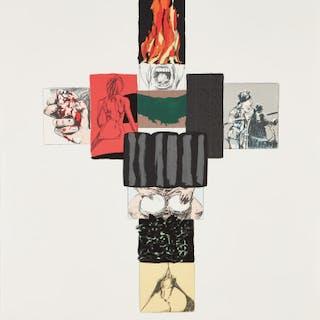 Body of a Comic (Clown Bank) - Robert Longo