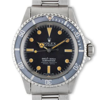 Rolex. A well preserved and sought after Rolex Submariner reference