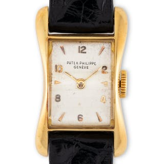 Patek Philippe. A fine and elegant Patek Philippe rectangular Lady's