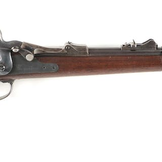 "This fine 1879 Saddle Ring Carbine has a sharp ""SWP 1880""..."