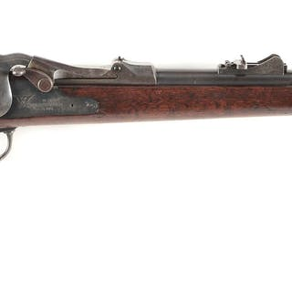 "This fine 1879 Saddle Ring Carbine has a sharp ""SWP 1881""..."