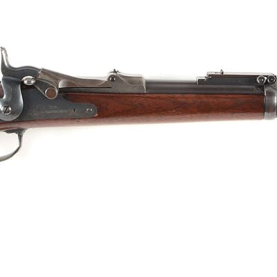 Lots of condition on this scarce 1879 Model carbine that features US 1873 bolt