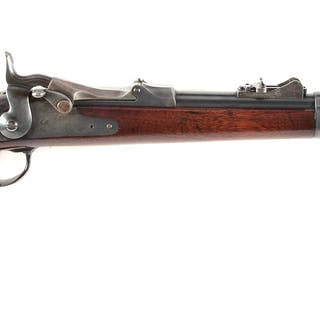 "This fine 1879 Saddle Ring Carbine has a sharp ""SWP 1882""..."