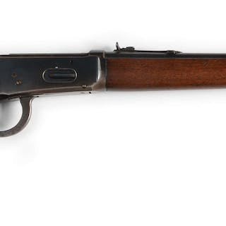 """Manufactured in 1942 with 20"""" round barrel and pre-war long forend"""