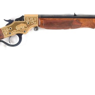 Featuring nicely figured walnut stock and forearm