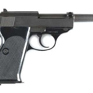 This is a post-War manufactured Walther P38 pistol