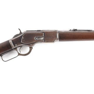 Standard Third Model Winchester Model 1873 rifle that has...