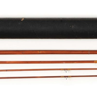 Surf Rapidan Fly four piece bamboo rod with cork handle