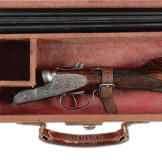 """Dovetailed barrels are engraved """"Cogswell & Harrison Ltd..."""