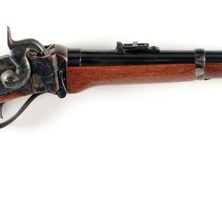 Quality copy of Sharps 1859 Saddle Ring Carbine features...