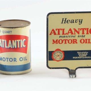 Lot Consists Of: Six Atlantic Motor Oil One Quart Cans