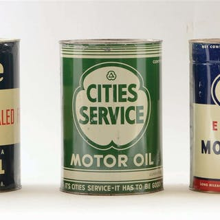 Lot Consists Of: Esso Extra Motor Oil Five Quart Can
