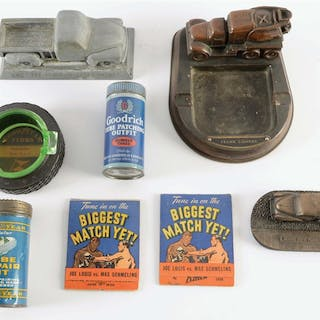 Lot Consists Of: Three Ashtrays from Goodyear