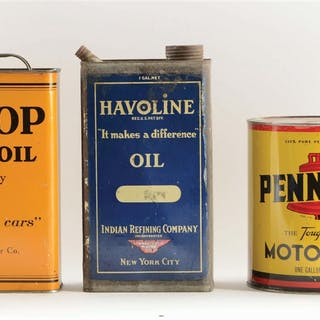 Lot Consists Of: Pennzoil One Gallon Round Can