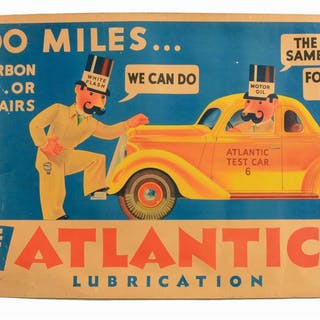 Lot Consists Of: Atlantic Don't Gamble With Holiday Fun Paper Banner