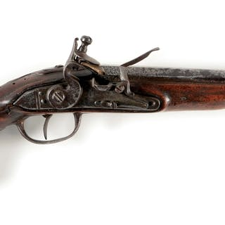 These early Austrian cavalry pistols were often carried...