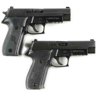 Lot consists of: (A) Features adjustable night sights