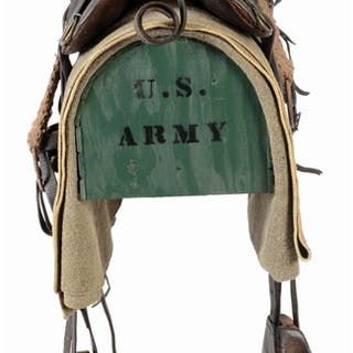 MODEL 1874 MCCLELLAN SADDLE ENSEMBLE WITH STAND  – Current