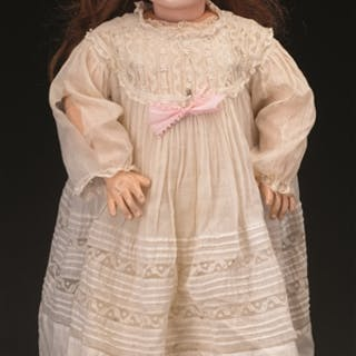"Classic 26-1/2"" (67cm) closed mouth 1890's style doll..."