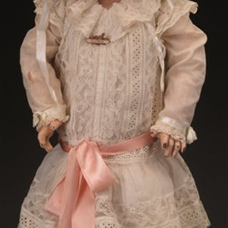 """This very attractive 25-1/2"""" (65cm) Jumeau Bebe from the..."""