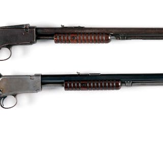Lot consists of: (A) Model 1890 made in 1915 and...