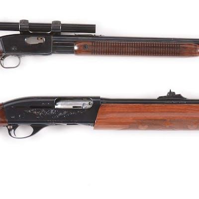 Lot consists of: (A) Remington Fieldmaster Model 121...