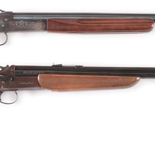 Lot consists of: (A) Winchester Model 37A