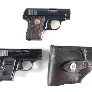 Lot consists of: (A) Colt Model 1908 manufactured 1932