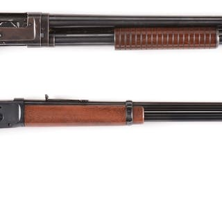 Lot consists of: (A) Model 1894 Winchester carbine manufactured 1966