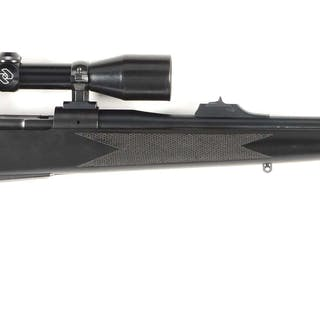 This high quality hunting rifle features pistol grip...