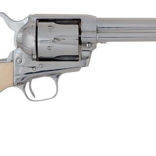This revolver features six shot